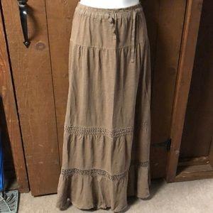 Neutral Maxi skirt